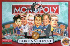 Coronation Street - I'd love to have this game! Coronation Street Cast, Waterloo Road, Tv Soap, Best Soap, Tv Times, Me Tv, Great Pictures, Favorite Tv Shows, I Movie