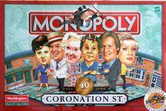 Coronation Street Monopoly!!! ARE YOU FREAKIN' KIDDING ME!!! I NEED THIS!!!!