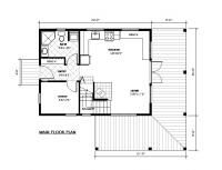 1000 images about garage apartment house plans on for 20x24 cabin layout