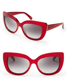 421e03214620 kate spade new york Women s Ursula Oversized Cat Eye Sunglasses