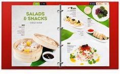 MAIN MENU | «Two Sticks» restaurant on Behance