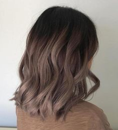 Long Wavy Ash-Brown Balayage - 20 Light Brown Hair Color Ideas for Your New Look - The Trending Hairstyle Hair Color 2018, Ombre Hair Color, Hair Color Balayage, Cool Hair Color, 2018 Color, Hair 2018, Feria Hair Color, Dyed Hair Ombre, Dye Hair