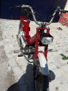 Antika moped mobilet stadion