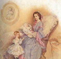 Elizabeth, Sofie, Gisela and Rudolf