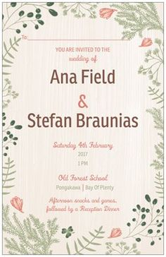 Personalise your own Vertical Flat Wedding Invitations at http://originwww.vistaprint.prod/christmas-cards.aspx?pfid=A4U. Get full-color custom business cards, banners, checks, Christmas cards, stationery, address labels…