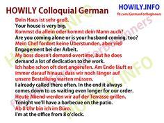 Colloquial German 42