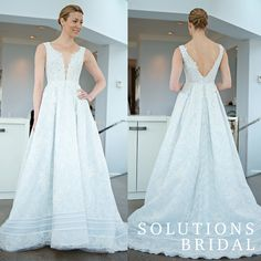 @inesdisanto photographed by @kristenweaver Spring 2016 Ines Di Santo collection. Visit www.solutionsbridal.com