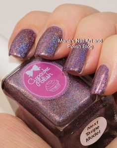 Marias Nail Art and Polish Blog: Cupcake Polish Next Taupe Model and Rusting Over A Boy, Falling Back In Time coll. swatches