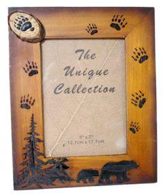 Bear Footprint 5x7 Photo FrameFor $16.99