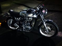 Cafe Racer, Royal Enfield Continental GT Custom