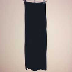 ($14 @ sagicorn.bigcartel.com)  Soft and comfy maxi skirt, with a quite high side slit. Would look good with a crop top, jacket, and leather boots for a Street style, or a more bohemian look with sandals, pastel crop top and a flower crown. :) Label says Small Should fit size 7 and lower Probably cotton blend and rayon. Brand: Pronto USA