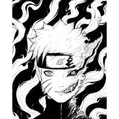 Adrian Dadich Naruto ($15) ❤ liked on Polyvore featuring naruto