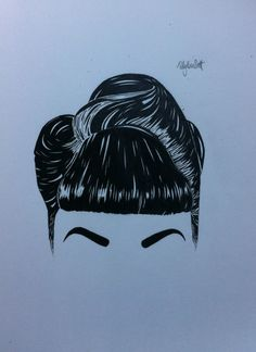 newest drawing. Pin up hair style, going to add something different to it just don't know yet.