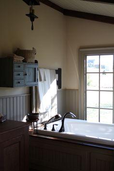 Master Bathroom Country Bathrooms Primitive Upstairs Baths Rannalla