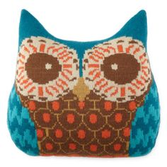 @dpowens1 wouldn't this be a nice Christmas present for your wife? Look! It's 50% off! ;) JCPenney Home™ Owl-Shaped Decorative Pillow - JCPenney