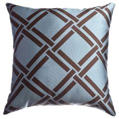 I pinned this Element Lattice Pillow in French Blue from the Softline event at Joss and Main!