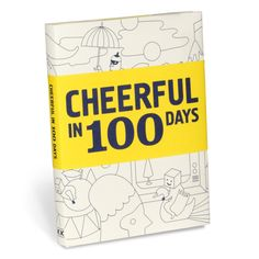 Knock Knock Cheerful in 100 Days book will inspire you to practice gratitude with suggestions to improve happiness. Better than any self-help book.