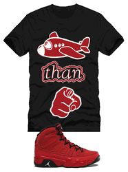 9d044f98e92637 Flyer Than You t-shirt to match Jordan 9 Motorboat Jones Sneakers