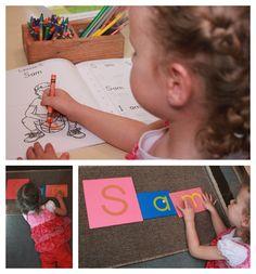 Combining Classical & Montessori Education to Teach Print