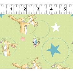 Guess How Much I Love You? Nut Brown Hare With Stars on Olive from Clothworks, Cotton sold By-The-Yard, Great for Quilting, Sewing! Anita Jeram, I Love You, My Love, Spring Theme, Easy Quilts, Classic Books, Childrens Books, Sewing Crafts, Bunny