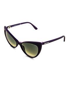 TOM FORD TF303 Purple Cat Eye Sunglasses
