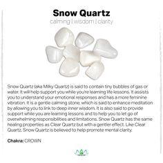 Image Result For Snow Quartz Vs White Jade Snow Quartz Gemstone Meanings Spiritual Crystals