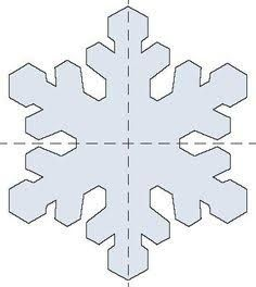 Template For Hot Glue Snowflakes   Pinteres