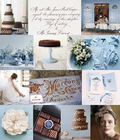 French Chocolate, French Blue | Snippet & Ink