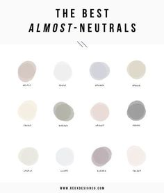 The best almost neutral colors for your branding color palette Colour Pallette, Colour Schemes, Color Combos, Color Patterns, Font Combinations, Painting Patterns, Photo Pour Instagram, Palette Design, Neutral Paint Colors