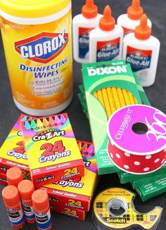 School Supply Cake Supplies