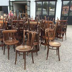 Franska Cafestolar Thonet