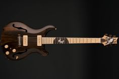 PRS Private Stock Hollowbody II Piezo Guitar of the Month in Natural Satin Nitro Finish #TBC