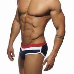 eb7ba3d04 New Addicted Swimsuit Man Swimwear Trunks Swimming Briefs Short Sunga Boxer  Beach