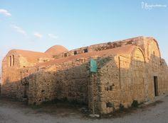 L'Eglise san giovanni di sinis dans la Péninsule du Sinis en Sardaigne