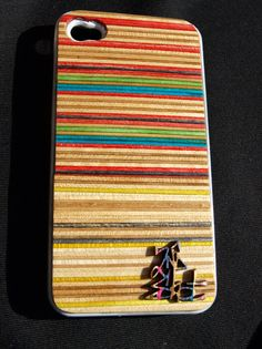 Second Shot iPhone 4 case made with recycled skateboards