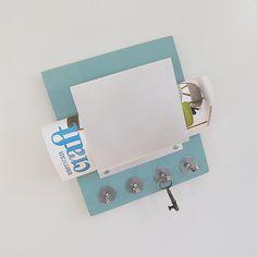 Wall Decor SODA  mail letter holder organizer key by PIGandFiSH, $69.00