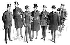 Mode masculine du 19ème siècle