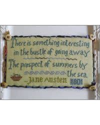 Summers By The Sea With Jane Austen by The Sampler Girl