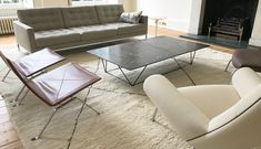 Large Berber Rug from THE HANDMADE RUG COMPANY - Moroccan rug in a beautiful living room. Living room rug - Living room inspiration - White Rug Beautiful Living Rooms, Beautiful Interiors, Rug Company, Berber Rug, White Rug, Traditional Rugs, Large Rugs, Contemporary Rugs, Living Room Inspiration