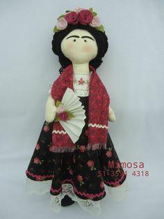 Projeto Boneca Frida Kahlo