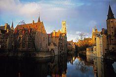 Quai du Rosaire Bruges (Belgique) © Maurice Rougemont