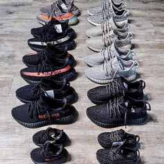 Yeezy Boost Collection On Point #sneakersadidas