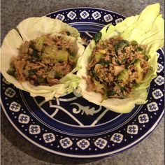 Asian-style turkey stuffed cabbage wraps - from Eating for Life by Bill Phillips