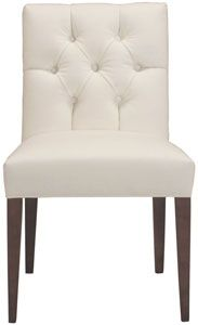 cobble hill clark side chair - dyno/white