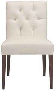 cobble hill clark side chair - dyno/white