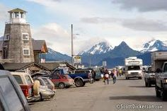 HOMER AK STREET  (I loved this little town!)