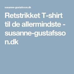 Retstrikket T-shirt til de allermindste - susanne-gustafsson.dk