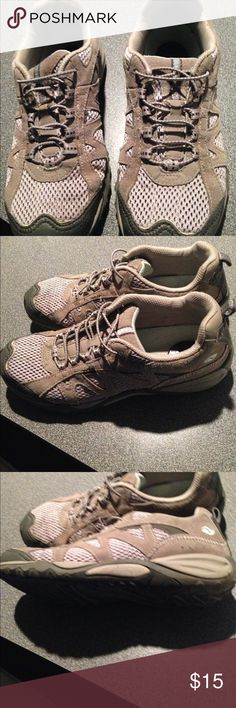 Dr Scholl's Natural Sport sneakers Cute and comfy Natural Sport sneakers. Tan in color. Good condition! Dr. Scholl's Shoes Sneakers