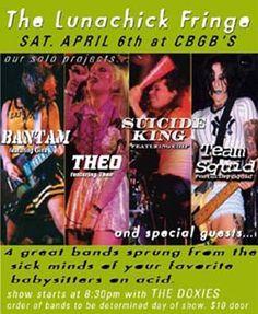 bands at CBGB'S