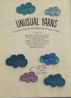 #crochet #clouds #pattern